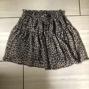 Cheetah Divided Skirt